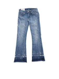 Dondup - Neon bootcut jeans in blue