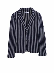 Dondup - Blue striped jacket