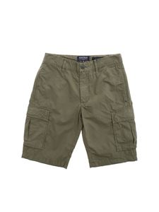 Woolrich - Cargo bermuda shorts in army green