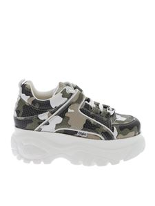 Buffalo London - Camouflage Classic Kick sneakers