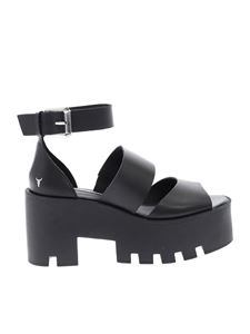 Windsor Smith - Black Puffy sandals