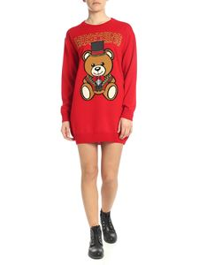 Moschino - Teddy Circus dress in red