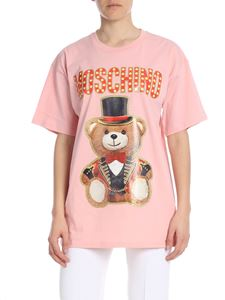 Moschino - Teddy Circus oversized t-shirt in pink