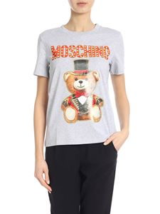Moschino - Teddy Circus t-shirt in gray