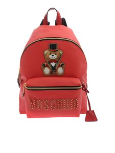 Moschino - Teddy Circus backpack in red