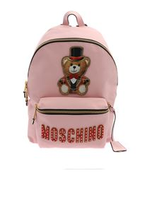 Moschino - Teddy Circus backpack in pink