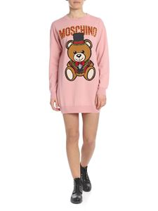 Moschino - Abito Teddy Circus in pink