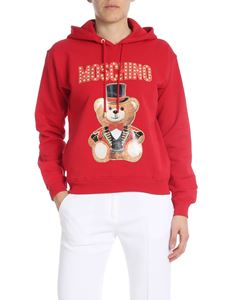 Moschino - Teddy Circus hoodie in red