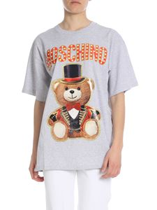 Moschino - Teddy Circus oversized t-shirt in gray
