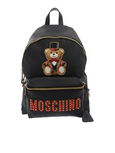 Moschino - Teddy Circus backpack in black
