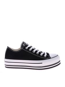 Converse - Black Ctas Platform Layer Ox sneakers