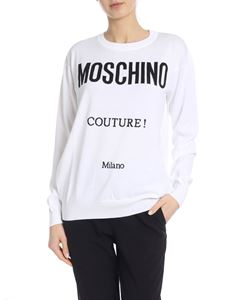 Moschino - Moschino Couture pullover in white