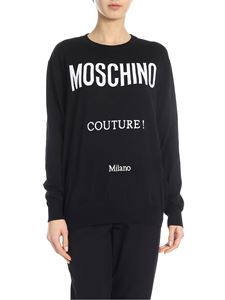 Moschino - Moschino Couture pullover in black