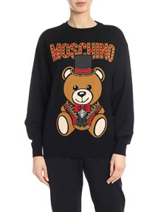 Moschino - Teddy Circus pullover in black