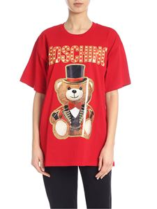 Moschino - Teddy Circus t-shirt in red