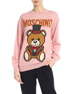 Moschino - Teddy Circus pullover in pink