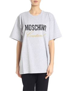 Moschino - Moschino Couture T-shirt in grey