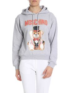 Moschino - Circus Teddy Bear printed hoodie in grey