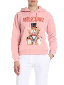 Moschino - Circus Teddy Bear printed hoodie in pink