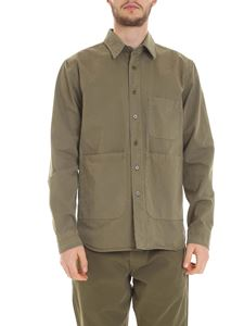 Aspesi - Shirt with pockets in army green