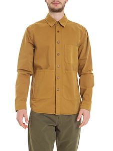 Aspesi - Shirt with pockets in ocher yellow