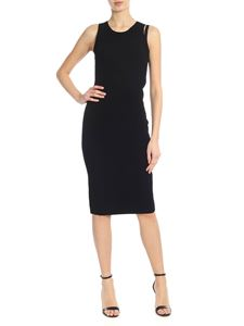 Helmut Lang - Sleeveless dress in black with shoulder strap
