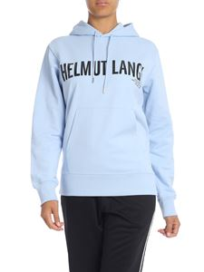 Helmut Lang - Sweatshirt in light blue with Helmut Lang logo