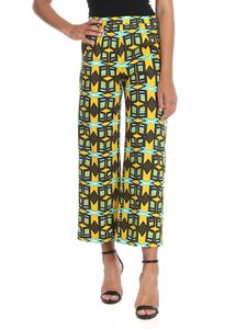 Aspesi - Crop pants with multicolor print