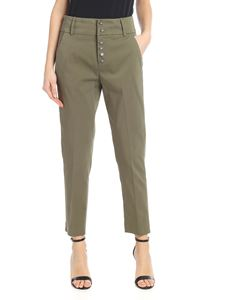 Dondup - Chic trousers in green