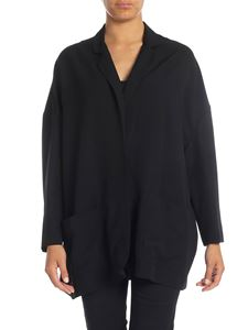 Erika Cavallini - Cardigan in black with pockets