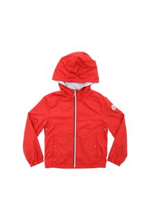 Moncler Jr - New Urville jacket in red