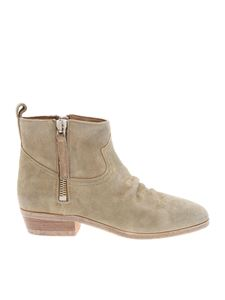 Golden Goose Deluxe Brand - Viand boots in sand color