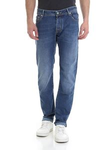 Jacob Cohën - Special Edition faded jeans in blue
