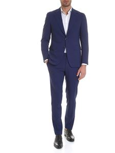 Canali - Single-breasted suit in blue wool