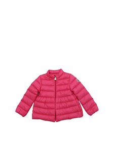 Moncler Jr - Bright pink Joelle down jacket
