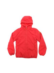 Save the duck - Red Maty hooded down jacket