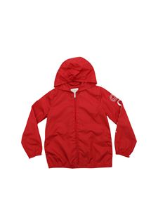Gucci - Red technical fabric jacket