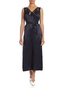 Stella McCartney - Blue jumpsuit with lace details