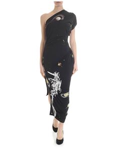 Vivienne Westwood  - Andalouse dress with black galaxy motif