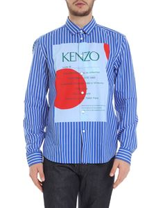 Kenzo - Camicia Wedding Invitation a righe