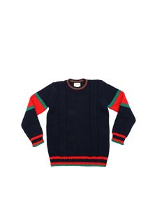 Gucci - Tricot pullover in dark blue