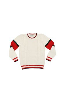Gucci - Tricot pullover in white