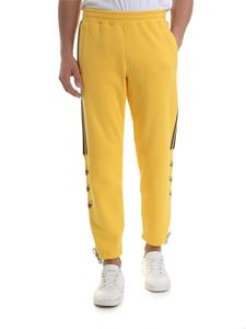 Adidas - Adidas Originals drawstring trousers in yellow