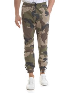 Adidas - Adidas Originals Camo trousers in green