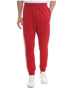 Adidas - Adidas Originals SST trousers in red