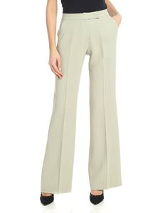 Fay - Palazzo trousers in sage green