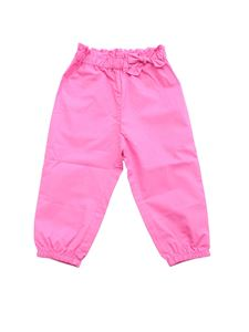 Monnalisa - Fuchsia pants with bow