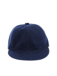 Borsalino - Baseball hat in blue jeans color