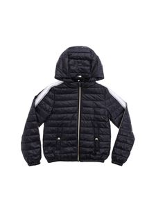 Herno - Black down jacket with removable hood
