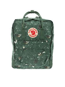 Fjallraven - Kanken Art Green Special Edition backpack